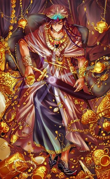 Sinbad - MAGI: The Labyrinth of Magic