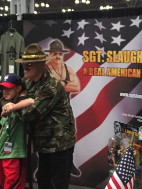 Sgt. Slaughter at his finest.