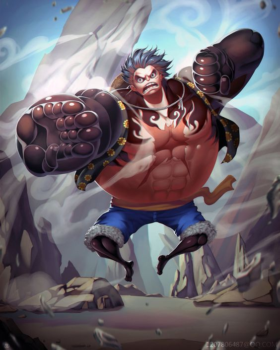 Gear 4th - Bounce Man - Monkey D. Luffy