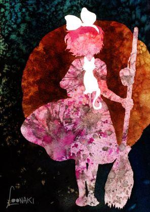 Kiki's Delivery Service - Ghibli Series IV by Loonaki.deviantart on DeviantArt