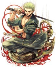 Zoro the Pirate Hunter Artwork (One Piece)
