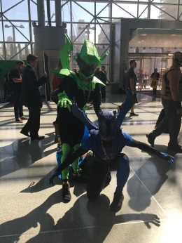Green Beetle & Blue Beetle from Young Justice