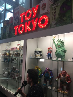 Everyone was obsessed with Toy Tokyo! Lines were crazy for their stuff.