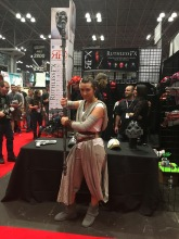 Rey, Star Wars. Nice cosplay.