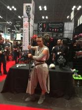 Rey, Star Wars. Nice cosplay.