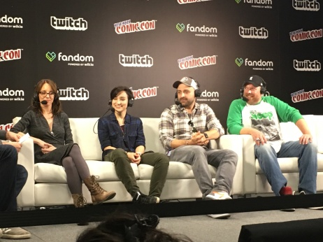 Cast of new Voltron series on Netflix.