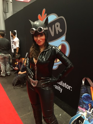 Cat Woman - love her glasses