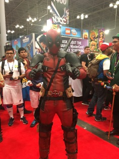 Deadpool! He was dope.