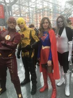 Team Flash, Team Supergirl