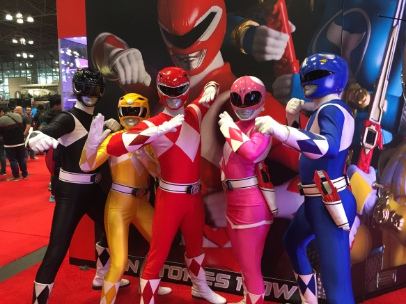 The REAL Power Rangers