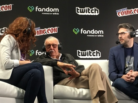 Stan Lee...chillin.