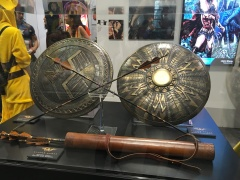 Wonder Woman props from the new movie