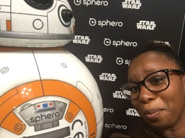 Last day at NYCC. BB8 was feeling my pain.