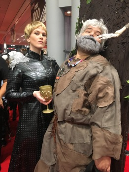 Cersei with Hodor, Game of Thrones