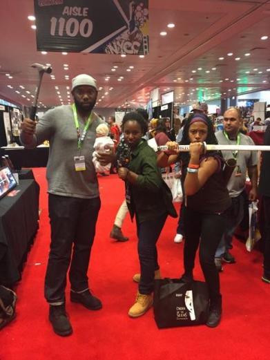 Tyreese, Sasha, Michonne (The Walking Dead)