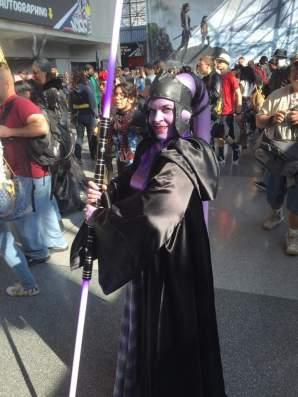 Cool Jedi woman.