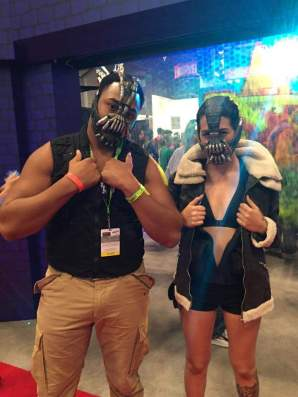 Bane and Female Bane