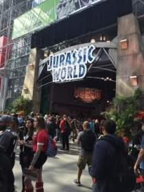 Enter into Jurassic World