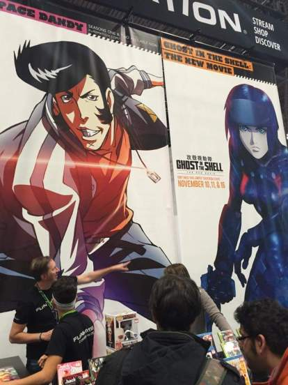 Funimation Tent (Space Dandy poster)