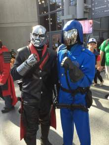 Cobra Commander & destro
