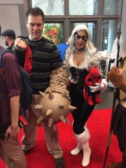Sandman and Catwoman