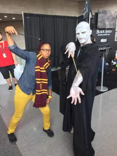 Gryffindor Alum takes on Voldemort!