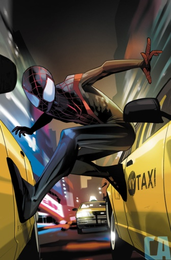 Miles Morales Ultimate Spider-Man #1 Fiona Staples Variant Cover