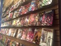 Comic book wall - 1