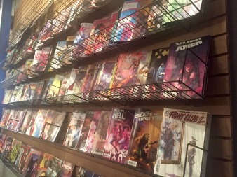Comic book wall - 1