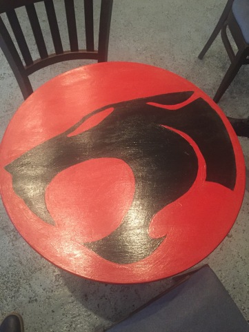 Thundercats Table