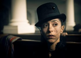 "TABOO -- ""Episode 1"" (Airs Tuesday, January 10, 10:00 pm/ep) -- Pictured: Oona Chaplin as Zilpha. CR: Robert Viglasky/FX"