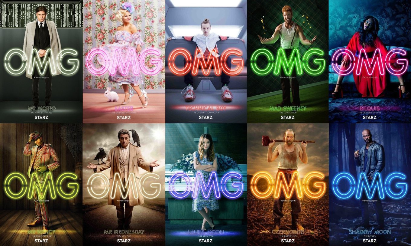 American-Gods-posters